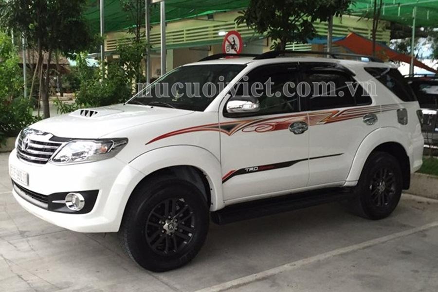 Giá thuê xe tháng tại Bình Tân, Tân Bình, Tân Phú TPHCM